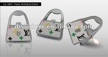 Handbag lighter with gas