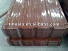 corrugated metal roofing panels