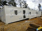 container showers and toilets