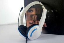 fashion silent disco headphone with mic (M630)