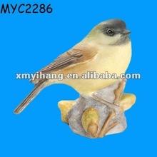 pintado a mano de cerámica tit la figura del pájaro