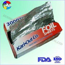 0.011mm household aluminium foil dealer