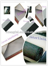 2012 Hot sell Knitted inner linings,100%Polyester fusible interlining fabrics,fusible linings