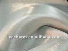 espumoso de raso de tela de tul