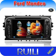 (Hot, Factory price) 2 din car gps navigation system ford mondeo with car dvd player radio tv 3D user interface (like iPhone4)