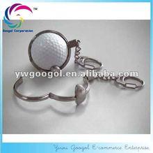 Golf Ball Keychains,Golf keychain,Promotional golf keychain