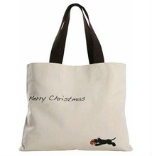 2012 wholesale 100% natural shopping cotton bag