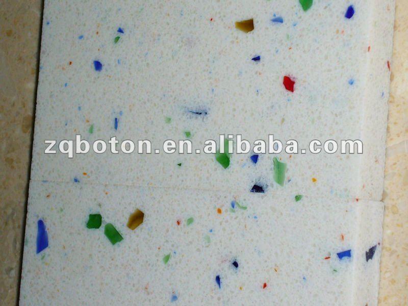 Arbeitsplatten Küche Bunt : weißem quarz steinplatten für flecken ...