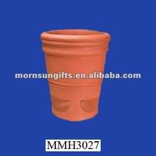 Wholesale rare rustic terracotta flower pot