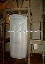 1000kg FIBC container bulk bag(baffle bag) for corn, maize, barley CR