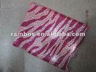 New Pink Shimmering Zebra Stick Case For ipad 2