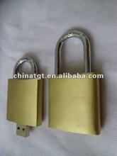 Newest Metal Padlock USB Flash drive