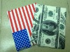 HOT Selling Cash/flag Pattern Leather Coated Case For ipad 2