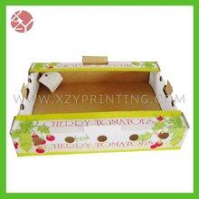Cherry tomatoes corrugated carton pdq