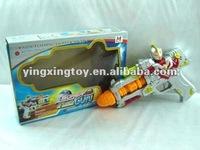 Plastic toy Flashing machine gun sound