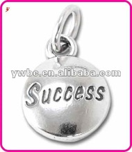 hot sale charm Domed Message Pendant - SUCCESS(H102841)
