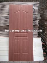 Plywood molded door skin with artificial sapele Okoume Walnut