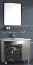 KS351 Modern stainless steel bathroom laundry cabinet