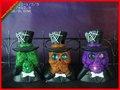 Decoraciones principales esqueléticas de los halloweens del diseño del bufón del Light-up/decoraciones de víspera de Todos los Santos