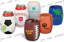 New style! basketball coolie for 330ml bottle and neoprene can holder