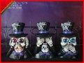 Decoraciones principales esqueléticas divertidas de los halloweens del diseño del bufón/decoraciones de víspera de Todos los Santos
