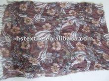 2012 Ladies' fashion Long Colorful pattern Woven Print Viscose Scarf