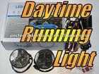 Universal fit Daytime Running Lights LED SMD Kit Super White 12V 6000K Round Shape