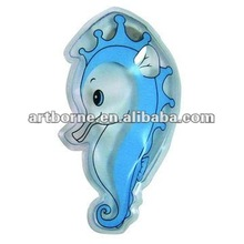 Instant Resuable Sea Horse Shaped Heat Pad Pocket Hand Warmer For Promotional Gift(CE,FDA,SGS approved)