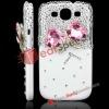 Big Bow Knot Diamond Rhinestone Case for Galaxy S3 i9300
