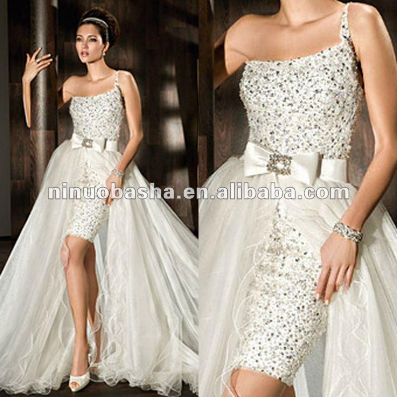 Wrap Around Wedding Dresses 120