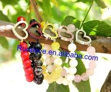 2012 Top Sellers more colors heart bracelet for US market