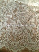 75%Cotton 25%nylon lace fabric
