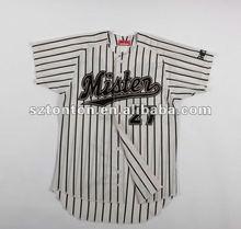 Tackle twill baseball jerseys