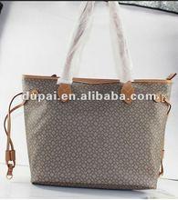 Korea fashion style PU leather cheap beautiful ladies handbags 2012