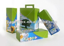 strong rigid cardboard high quality color custom design packing and carton box