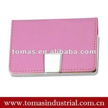 Cute design custom leather business card cases women