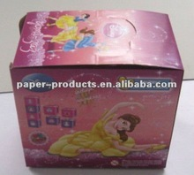 2012 hot product custom lovely red corrugated paper for carton box