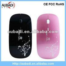 Hott!!! fancy 2.4g super slim wireless new mouse 2012
