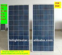 solar panel dealers 260W commerical solar panel