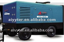 Mobile Diesel Screw Air Compressor with Cat engine