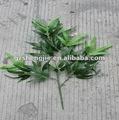 Alta qualidade fire retardantartificial folha de bambu/ folhas./ frondes