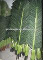 Hign calidad de hojas de palmera artificial/hojas. Las frondas/