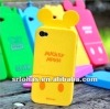 colorful cartoon silicon case for mobile phone