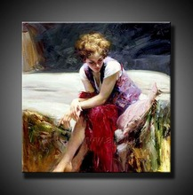 Hot Sell Handmade Oil Painting Pino