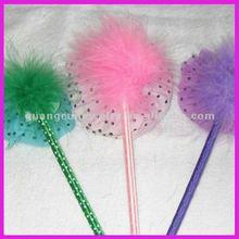 fashion cute hat shape ostrich feather pens