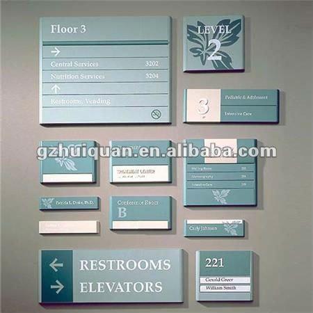 aluminum frame metal sign for advertising equipment