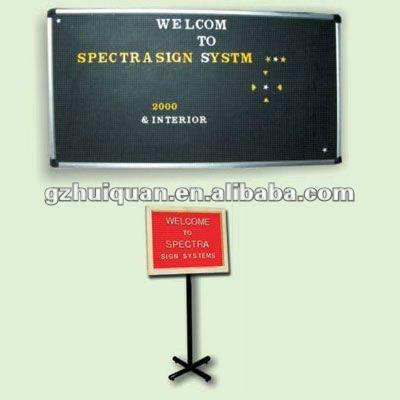 aluminum frame sign holder for advertising equipment