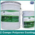 Dos pack de poliuretano capa de aerosol de pintura/insdustrial uso