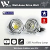 9W Motorbike LED driving light, LED off road light, LED motorcycle light.