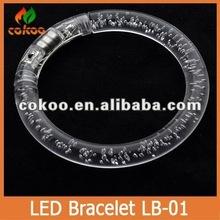 Promotional Crazy LED Flashing Light Up Bracelet